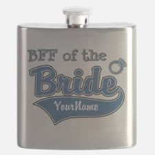 BFF of the Bride Flask