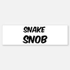 Snake Bumper Bumper Bumper Sticker