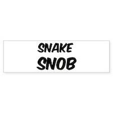 Snake Bumper Bumper Sticker