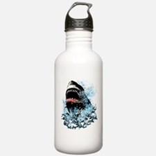 Awesome Shark Art! Water Bottle