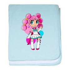 Lollipop Girl 2 baby blanket