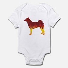 Norrbottenspets Flames Infant Bodysuit
