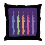 Music Oboe Instrument Throw Pillow