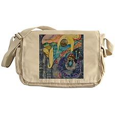 The evening, an allegory Messenger Bag