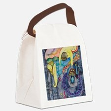 The evening, an allegory Canvas Lunch Bag
