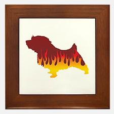 Norfolk Flames Framed Tile