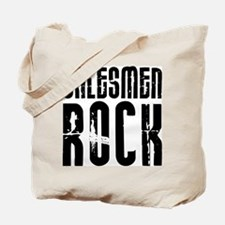 Salesmen Rock Tote Bag