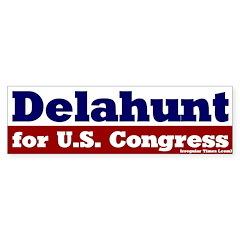 Elect Bill Delahunt Bumper Bumper Sticker