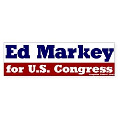 Ed Markey for Congress Bumper Sticker