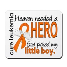 Leukemia Heaven Needed Hero 1.1 Mousepad