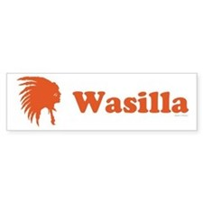 Wasilla, Alaska Bumper Bumper Sticker