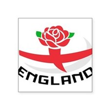 Rugby England English Rose Ball Flag Sticker