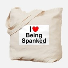 Being Spanked Tote Bag