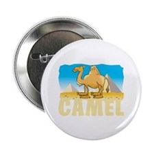 "Kid Friendly Camel 2.25"" Button"