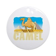 Kid Friendly Camel Ornament (Round)