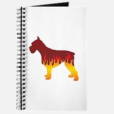 Schnauzer Flames Journal