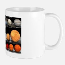Relative sizes of the planets Mug