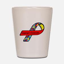 Aspergers Awareness Shot Glass