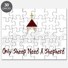 Only Sheep Need Shepherd Puzzle