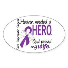 Pancreatic Cancer Heaven Needed Her Decal