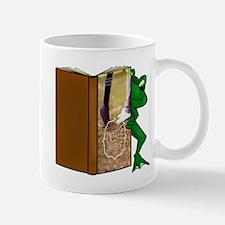 Frog Reading Twelve Steps Mugs