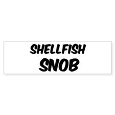 Shellfish Bumper Bumper Sticker