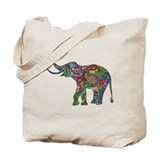 Elephant Canvas Totes