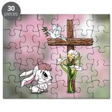 Easter Bunny Cross Puzzle