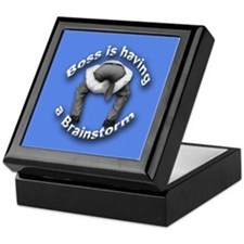Bad Boss Brainstorm Keepsake Box