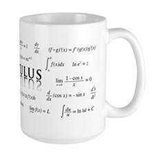 Calculus Equations Mugs