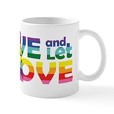 Live Let Love Nd Mugs