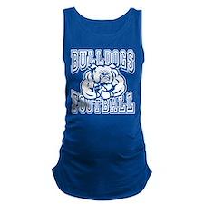 Bulldogs Football Maternity Tank Top