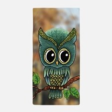 Lifes a Hoot Owl Beach Towel