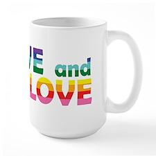 Live Let Love Nj Mugs
