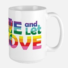 Live Let Love Mt Mugs