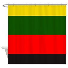 Reggae Stripes Shower Curtain
