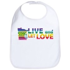 Live Let Love MN Bib