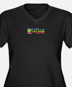 Live Let Love MN Plus Size T-Shirt