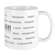 English Grammar Mugs
