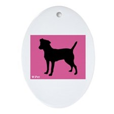 Patterdale iPet Oval Ornament