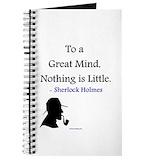 Sherlock holmes Journals & Spiral Notebooks