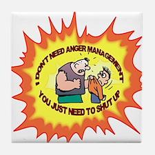Anger Management Tile Coaster