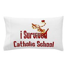 Catholic School Survivor Pillow Case