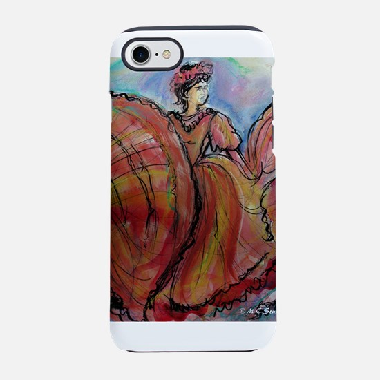 Mexican Dancer, Fiesta, iPhone 7 Tough Case