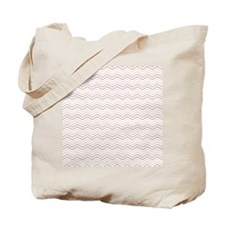 Chevron Pattern Thin Mixed Colours Tote Bag