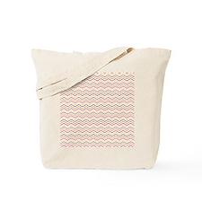 Chevron Pattern Mixed Bight Colours Tote Bag