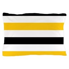 black  gold Pillow Case