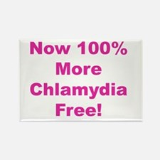 Chlamydia Free Rectangle Magnet