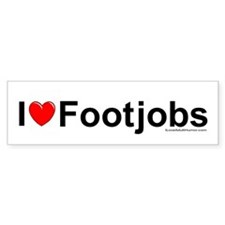 Footjobs Bumper Sticker