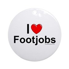 Footjobs Ornament (Round)